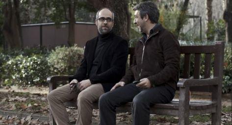 Luis Tosar y Ricardo Darín en un fotograma de la película