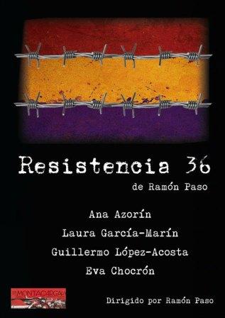 Resistencia 36.- Cartel