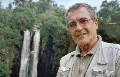 Pepe Rubianes en una de las imágenes incluidas en el libro