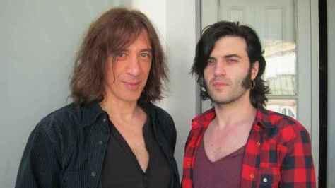 Els músics Gerard Quintana i Xarim Aresté, en una imatge promociona