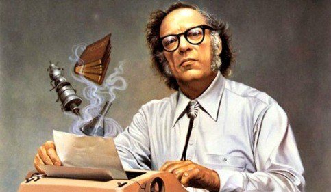 Isaac Asimov autor de El fin de la eternidad y La fundación