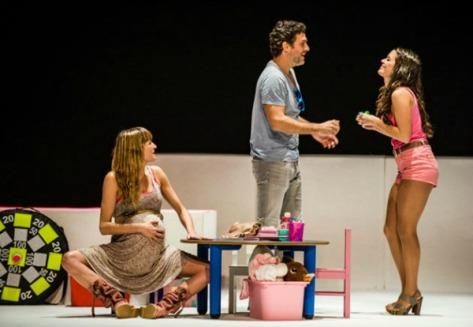 La vida resuelta_teatre Borras
