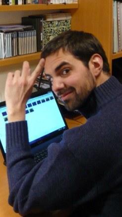 El escritor Toni de la Torre, en una imagen promocional