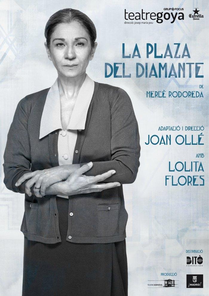 La plaza del diamante_Goya_cartel
