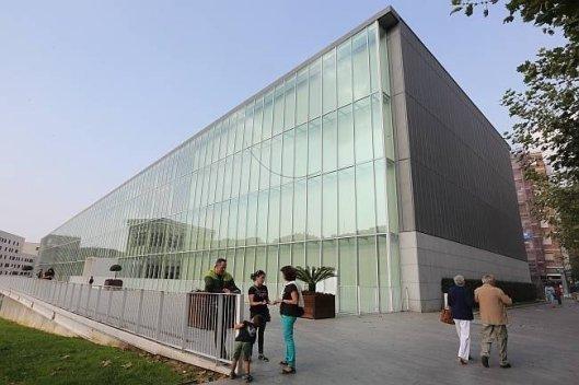 "Imagen del Conservatorio ""Juan Crisóstomo de Arriaga"", donde estará ubicada Dantzerti"