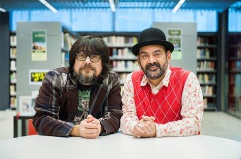 Els cineastes Juan Cruz i José Corbacho, ara també escriptors