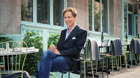 El escritor David Lagercrantz, en una imagen promocional