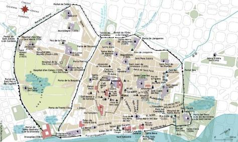 Barcelona segle XIV