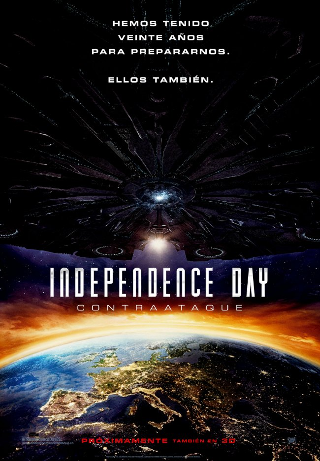 Independence Day Contraataque_Poster Teaser