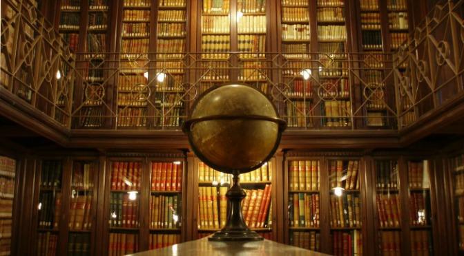 interior biblioteca arus