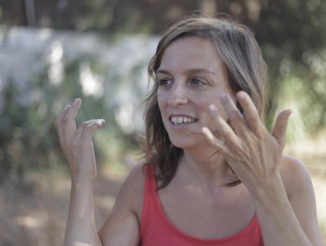 La dramaturga Elisenda Guiu, en una imatge promocional