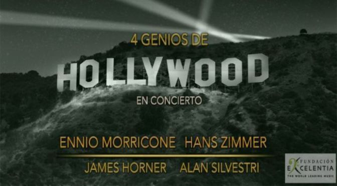 4 genios de Hollywood: Morricone, Silvestri, Zimmer, Horner, L'Auditori