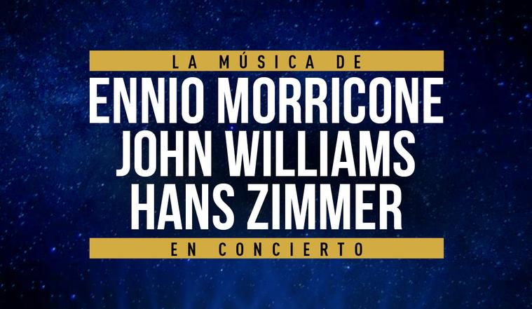 The Music of Ennio Morricone & Hans Zimmer & John Williams, en el Palau de la Música de Barcelona