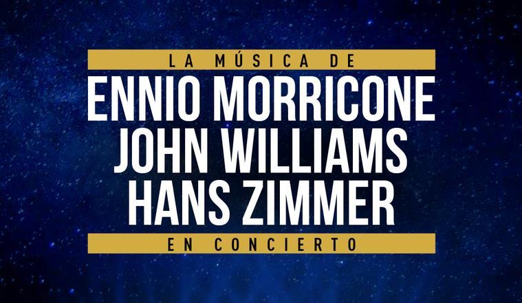 The Music of Ennio Morricone & Hans Zimmer & John Williams, en el Palau de la Música de Barcelona
