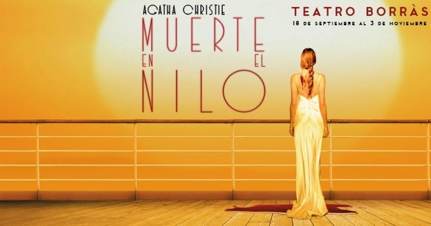 Muerte en el Nilo_Teatro Borras_destacado