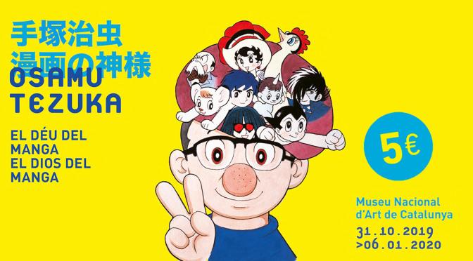 Exposición Osamu Tezuka, el Dios del Manga_destacado