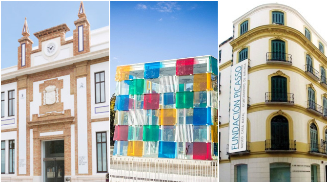 Coleccion del Museo Ruso, el Centre Pompidou y la Casa Natal de Malaga