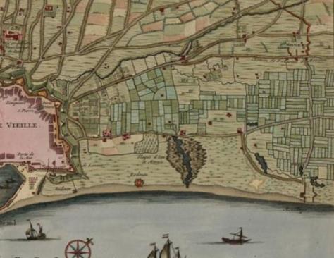 Poblenou a inicios del siglo XVIII