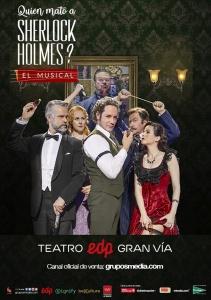 Quién mató a Sherlock Holmes_cartel