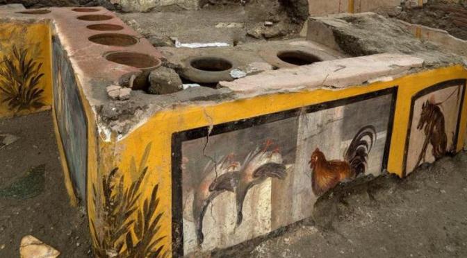 Descubren Termopolio en Pompeya_destacado